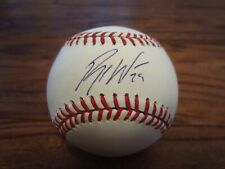 New ListingBrett Wallace Astros Signed Autographed Rawlings Baseball Mlb Authentic Padres