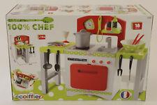 Ecoiffier Gourmet Küche 100% Chef Spielküche Kinderküche mit viel Zubehör