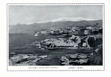 Beirut Libano XL stampa d'arte 1916 di Georg Macco * Aquisgrana † Vienna +