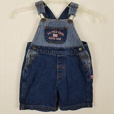 U.S. Polo Assn. Infant 24 months denim short overalls