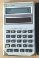Vintage Pocket Calculator Sanyo CX2570