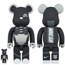 Medicom Be@rbrick 2017 Nike Sb Sneaker Black 400% + 100% bearbrick Boxset 2pcs