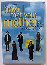 HOW I MET YOUR MOTHER Season 5 (DVD, 2010, 3-Discs) NEW
