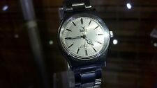 CAMY GENEVE Swiss Vintage Wrist Watch Classic Silver Dial