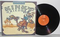 KINKY FRIEDMAN Lasso From El Paso LP 1978 Epic Records Country Vinyl VG Plus