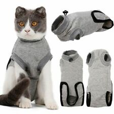 KA Pet Cat Postoperative Wound Protection Breathable Cotton Restore Stable Suit