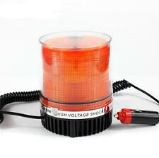 Amber Magnetic Beacon Light Emergency Warning Strobe Flash Yellow Roof Round