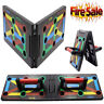 Foldable 9 in 1 Push Up Rack Board Fitness Workout Train Gym Exercise Stands SL