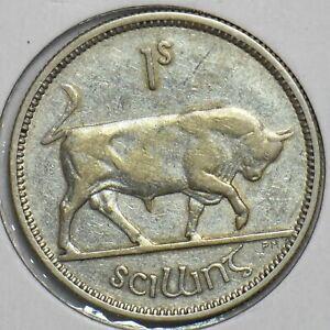 Ireland 1935 Shilling Bull animal 197206 combine shipping
