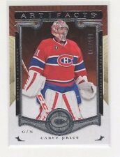 2015-16 UD ARTIFACTS #123 CAREY PRICE SER#105/999