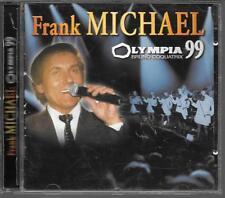 2 CD ALBUM LIVE 29 TITRES--FRANK MICHAEL--LIVE OLYMPIA 1999