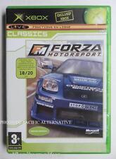 jeu FORZA MOTORSPORT 1 sur microsoft XBOX en francais spiel juego gioco complet