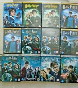 Harry Potter - All Films (1 or 2 Disc Editions)