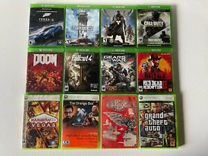 Xbox Games Lot