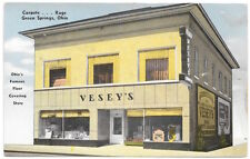 Postcard Vesey's Rugs, Carpets & Linoleums in Green Springs, Ohio~104940