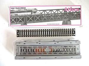 HO Scale PONY Truss Bridge Kit (Code 100) - Silver - NEW OLD STOCK No Reserve