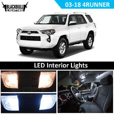 White LED Interior Package Replacement Bulb Kit for 2003-2018 Toyota 4Runner 18x