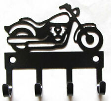 Metal Motorcycle Hooks Motorcycle Key Hooks Motorcycle Wall Art, Motorcycle gift