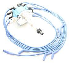 HEI Distributor Coil 8.5mm Spark Plug Wires Pontiac 350 389 400 421 428 455 V8