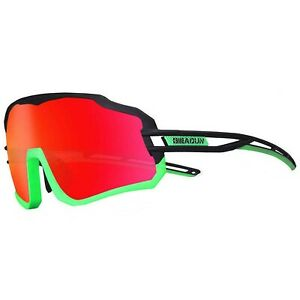 Polarized Sports Sunglasses with for Men Women Cycling Glasses UV400 Lightwei...