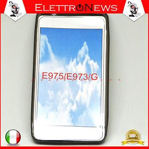 Custodia cover tpu per LG E975 Fumè