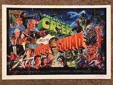 Night Of The Creeps Monster Squad Jason Edmiston Horror Movie Print Poster Mondo