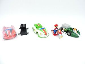 K'NEX MarioKart Wii LOT of 4 Vehicles MARIO Bowser & YOSHI Motorized Karts bike