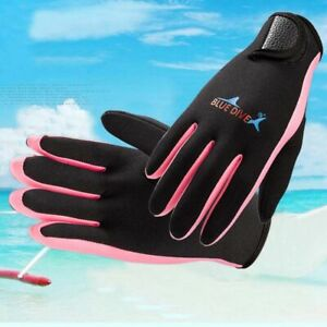 _Winter 1.5mm Neoprene Women Men Swimming & Diving Gloves With The Magic Stick