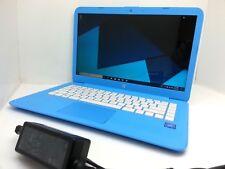 """HP Stream 14-ax010wm - 14"""" Intel N3060 2.48GHz - 4GB - 32GB SSD- Sky Blue Laptop"""