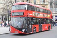New bus for London - Borismaster LT399 6x4 Quality Bus Photo