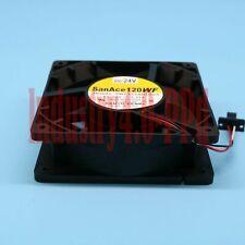 Sanyo Denki 9WF1224H1D03 A90L-0001-0509 DC24V 0.32A 120*120*38mm
