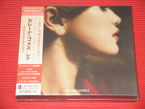 2020 SELENA GOMEZ RARE WITH BONUS TRACKS  JAPAN CD + DVD SPECIAL EDITION