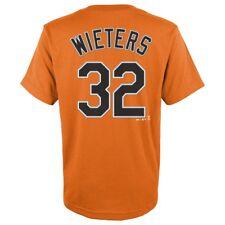 Matt Wieters MLB Majestic Baltimore Orioles Player Jersey T-shirt Youth S-xl XL