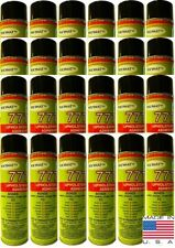24 Polymat 777 cans Foam Fabric Carpet Upholstery Inst.Tack Spray Glue Adhesive