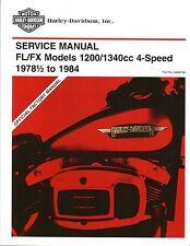 Harley-Davidson Werkstatthandbuch 4-gang Shovelhead FL FX L1978-84 Buch 99482-84