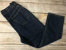 Land's End Maternity Jeans size 6 X 24 Style 84593 Pants Dark Indigo New NWT