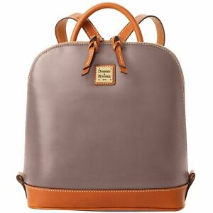 Dooney & Bourke Wexford Leather Zip Pod Backpack