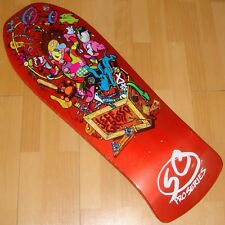 SANTA CRUZ - Jeff Grosso - Toy Box - Skateboard Deck - Candy Metallic Orange FP