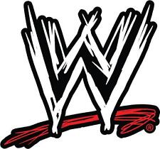 Choose Size/Color- WWE LOGO Decal Removable WALL STICKER Home Decor Art Raw