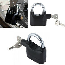 Siren Alarm Lock Anti-Theft Security System Door Motor Bike Bicycle Padlock