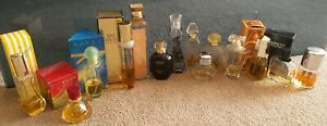 Job Lot Of Half Used Designer Perfumes/Eau De Toilette Bottles
