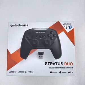 New - SteelSeries Stratus Duo - 2.4GHz  Bluetooth Wireless Gaming Controller