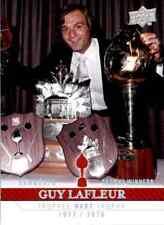 2008-09 Upper Deck Montreal Canadiens Centennial Set Guy Lafleur #256