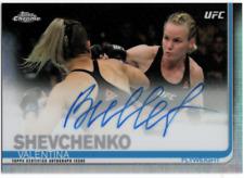 2019 Topps Chrome UFC Autographs #FAVS VALENTINA SHEVCHENKO Auto