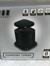 100 Percent Hybrid Tower Charging Station With AC Outlet And USB Charge For L...