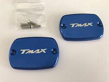 COUVERCLE DE MAITRE CYLINDRE BLEU YAMAHA 500 TMAX T-MAX T MAX 08-11 530 12-14