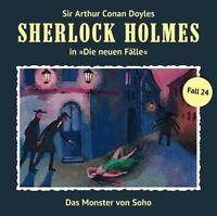 SHERLOCK HOLMES - DAS MONSTER VON SOHO (NEUE FÄLLE 24)  CD NEU MASUTH,ANDREAS