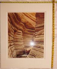 LARRY N. OLSON 1981 SIGNED PHOTOGRAPH LIMITED 15/80 MATCATAMEBA GRAND CANYON
