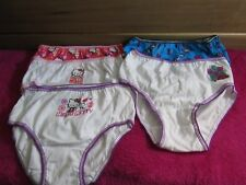 Girls NWOT Sz 6 Monster High & Hello Kitty Lot of 5 Panties Y-12