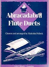 ABRACADABRA FLUTE DUETS, by Malcolm Pollock, NEW FLUTE DUET BOOK.